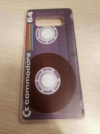Funda rígida commodore 64 Samsung galaxy note 8