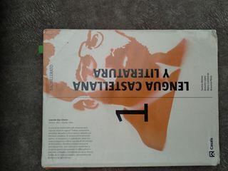 libro lengua castellana y literatura 1 bachiller