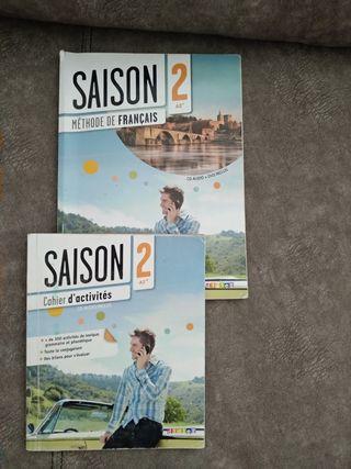 libro francés 1 bachillerato+ cuaderno actividades