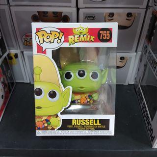 Funko pop Russell Alien Remix 755 Disney UP