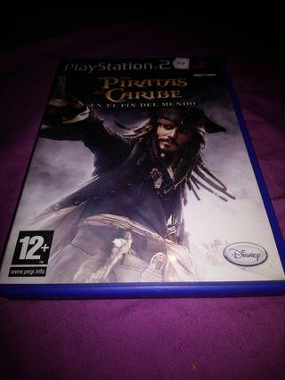 Piratas del caribe Ps2 PlayStation 2 Pal Esp