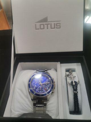 Conjunto lotus reloj y pulsera