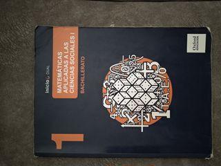 libro mates aplicadas a las CCSS I, 1 bachillerato