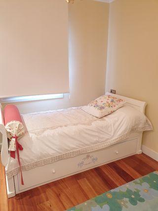 Dormitorio infantil lacado blanco