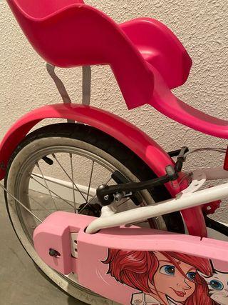 Bicicleta niña decathlon 16''