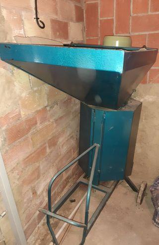 Maquina de pelar Almendra