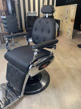 Precioso sillón de barbero