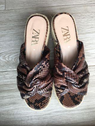 Cuñas serpiente Zara precio negociable
