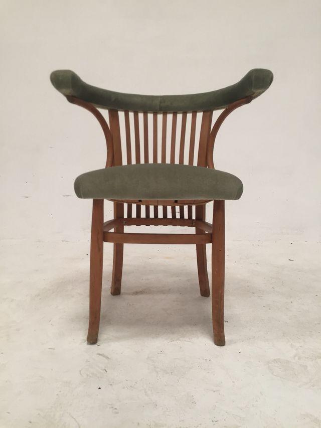 Pareja sillas Vintage 1950 Antiguas Diseño Nórdico