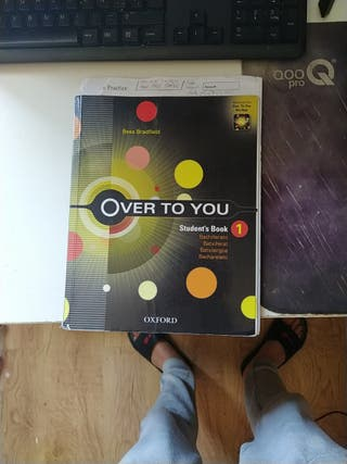 libro student's book bachillerato over to you 1