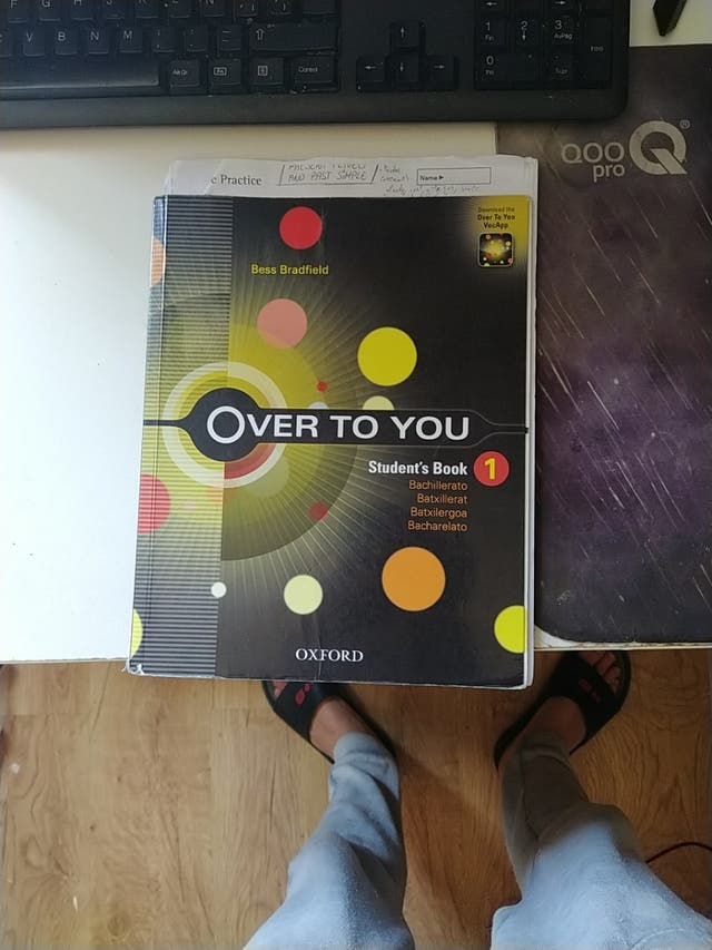 libro student's book bachillerato over to you 1