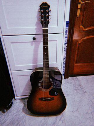 Vendo o cambio guitarra acústica Epiphone