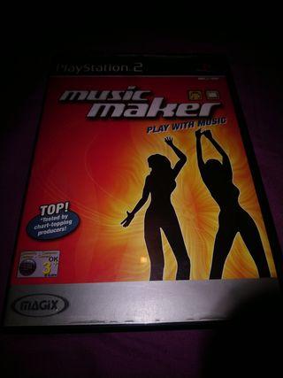 Músic Marker ps2 PlayStation 2 Pal Uk