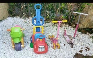 varios juguetes infantiles ,se vende lote