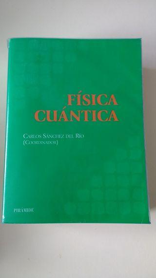 Libro Física cuántica Carlos Sánchez del Río
