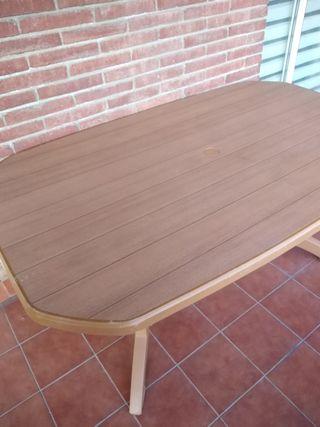 mesa jardin