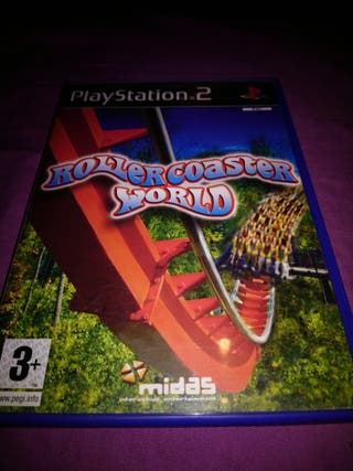 Rollercoaster World Ps2 PlayStation 2 Pal Uk