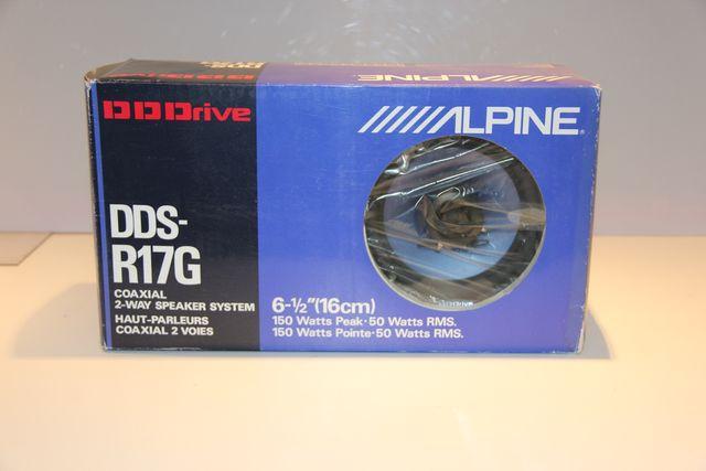 Alpine DDS-R17G Altavoz de Coche