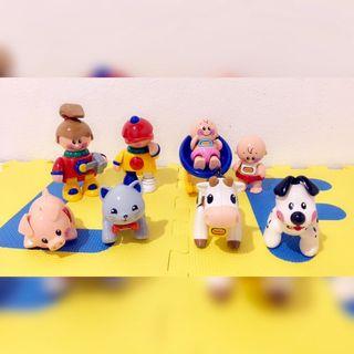 8 muñecos articulados TOLO