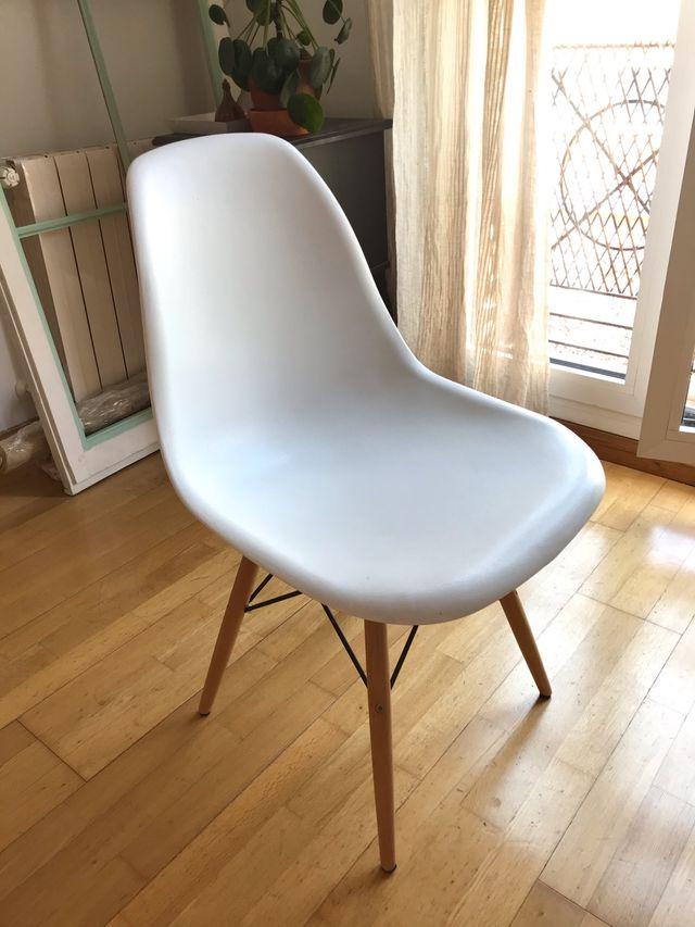 Silla diseño Eames