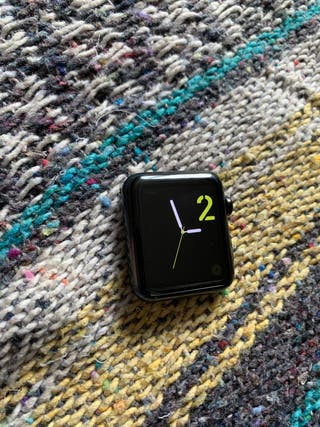 Apple Watch 42mm acero y zafiro