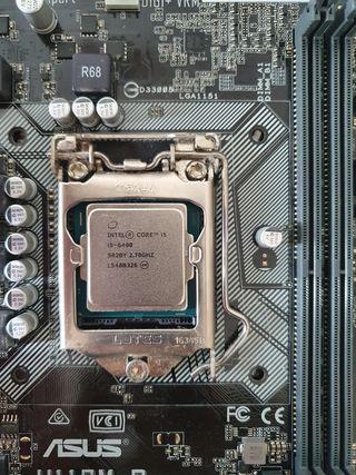 Procesador Intel i5 6400 y componentes