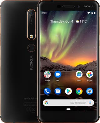 Movil Nokia 6.1 3GB ram, 32GB Negro