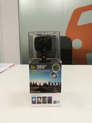 Cámara digital deportiva 360° Nk Nk-AC3091-360 Wif