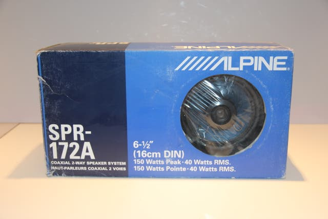 Alpine SPR-172 A Altavoz de Coche