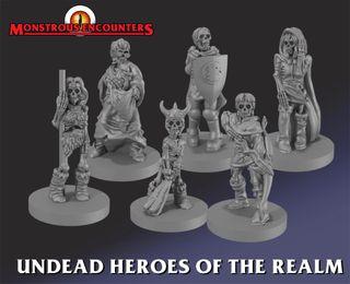 Heroquest Héroes Dungeon No Muertos