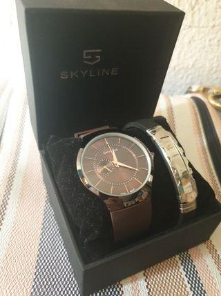 Reloj y pulsera Skyline