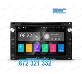 """RADIO GPS ANDROID 7.1 7"""" SKODA OCTAVIA / SUPERB US"""