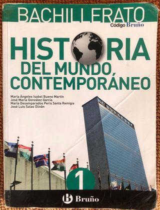 Libro Historia del Mundo contemporáneo 1° Bach