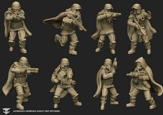 Star Wars Legion Squad