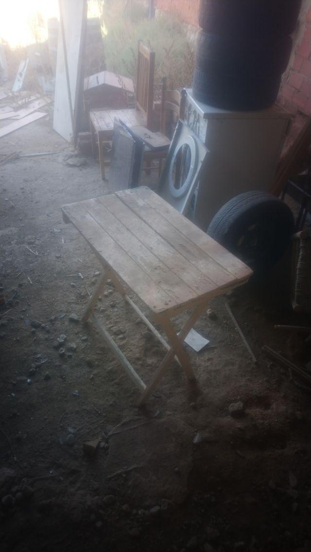 mesa plegable para restaurar