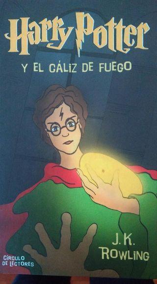 Harry Potter y el caliz de fuego libro
