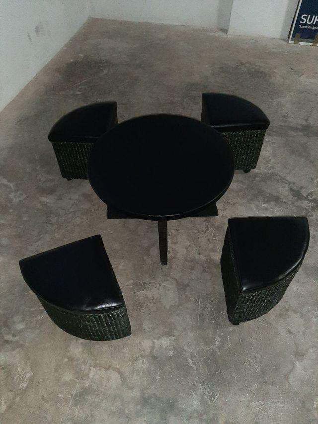mesa con cilla