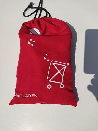 plastico de lluvia de silla Mc Laren de baston