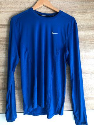 Camiseta manga larga Running Nike, Talla M