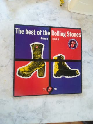 The best of rolling Stones jump back 2 x lp
