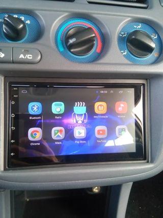 pantalla android GPS doble din. Android GPs blueto