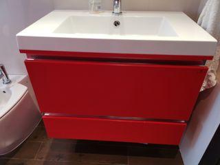 Mueble baño suspendido diseño