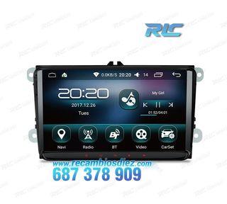 "RADIO GPS ANDROID 6.0 MARSHMALLOW 9"" VW USB GPS TA"