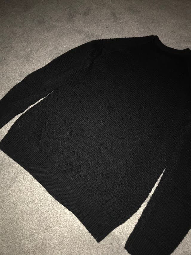 Men's black next jumper