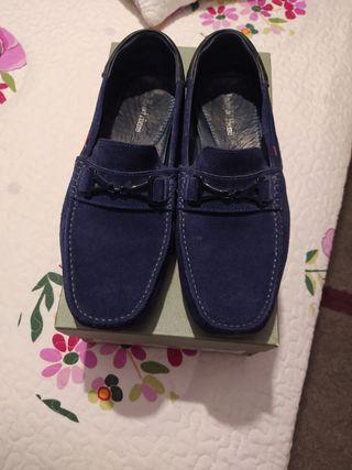 Mocasines azules Pedro del Hierro