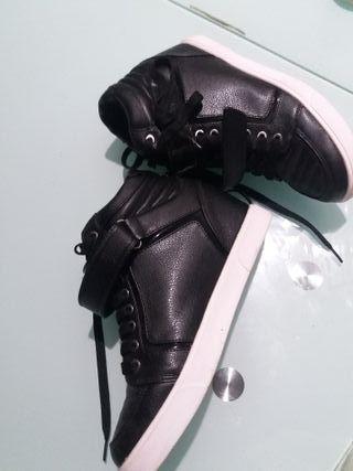 zapatilla de plataforma n°41