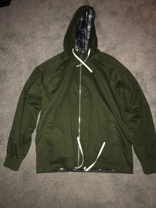 Men's khaki green jacket