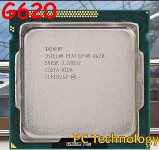 INTEL PENTIUN G620 dual core (2,60GHZ)SOKET 1155