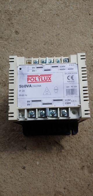 transfrormador POLYLUX nuevo solo un mes de uso