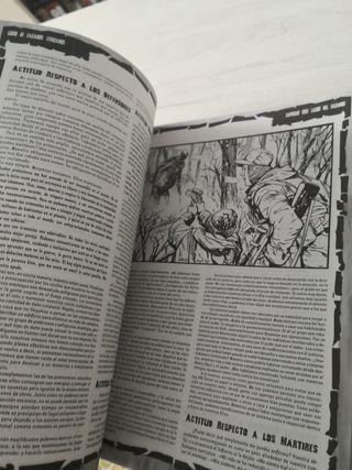 Libro del cazador Vengador. Juego de rol.